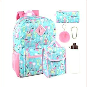 Other - NWT 🌸🦉🌼 Owl 6-in-1 Backpack